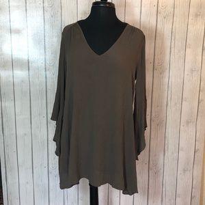 Lush Olive Dress